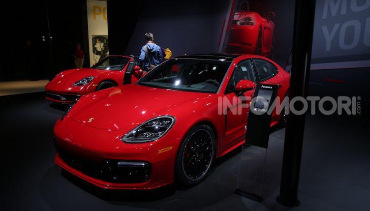 Porsche: tutte le novità presentate al Salone di Los Angeles 2018 - Foto 8 di 79