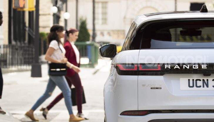 Range Rover Evoque 2019: una seconda serie per replicare il successo - Foto 7 di 8