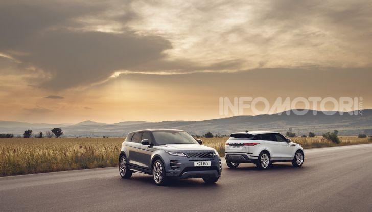Range Rover Evoque 2019: una seconda serie per replicare il successo - Foto 1 di 8