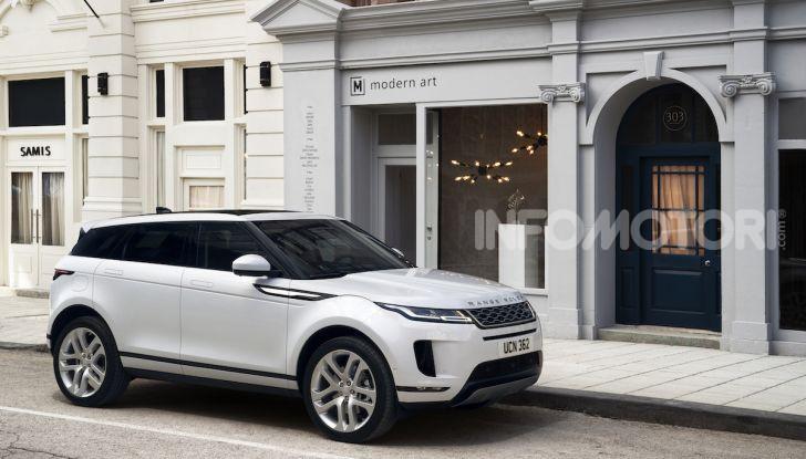 Range Rover Evoque 2019: una seconda serie per replicare il successo - Foto 4 di 8