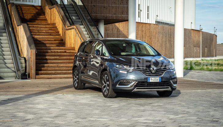Nuova Renault Espace, prova dell'1.8 TCe Energy da 225CV - Foto 22 di 30
