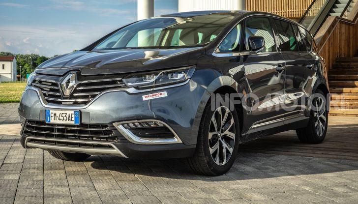 Nuova Renault Espace, prova dell'1.8 TCe Energy da 225CV - Foto 19 di 30