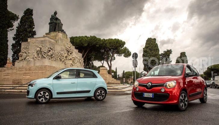 Renault Twingo GPL 2018: prova su strada della citycar ecologica - Foto 5 di 22