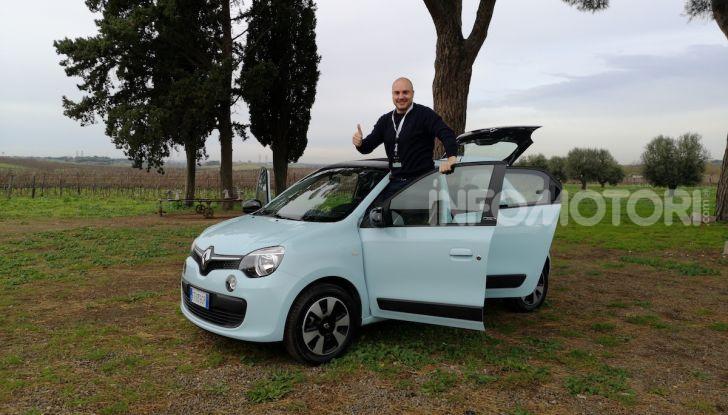Renault Twingo GPL 2018: prova su strada della citycar ecologica - Foto 2 di 22