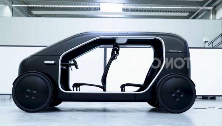Sin Biomega, l'auto elettrica danese da 20.000€ - Foto 2 di 8
