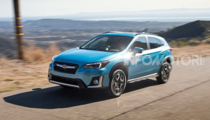 Subaru XV 2019 debutta con il nome Subaru Crosstrek - Foto 4 di 5