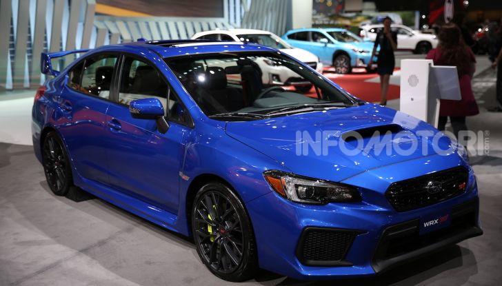 Subaru, le foto più belle live dal Salone di Los Angeles 2018 - Foto 2 di 19
