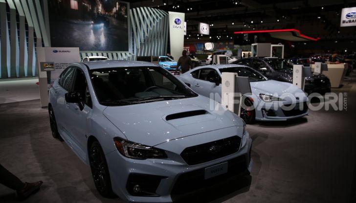 Subaru, le foto più belle live dal Salone di Los Angeles 2018 - Foto 14 di 19