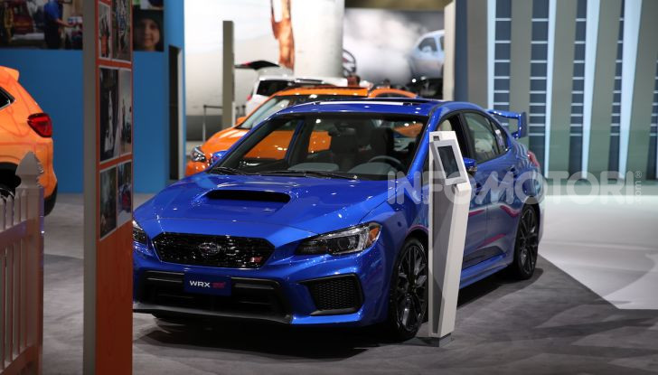 Subaru, le foto più belle live dal Salone di Los Angeles 2018 - Foto 15 di 19