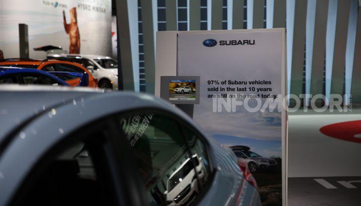 Subaru, le foto più belle live dal Salone di Los Angeles 2018 - Foto 16 di 19