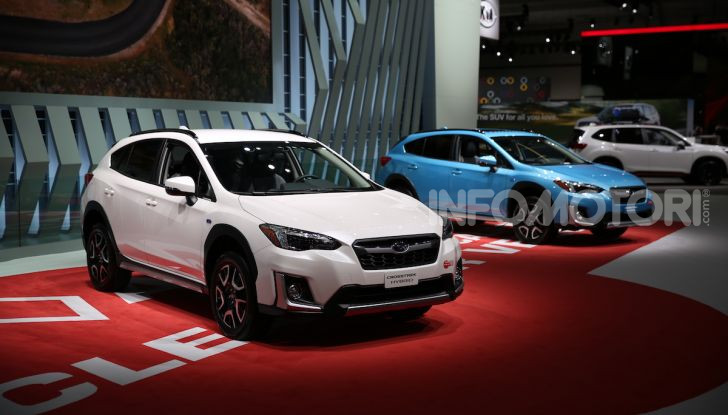 Subaru, le foto più belle live dal Salone di Los Angeles 2018 - Foto 1 di 19