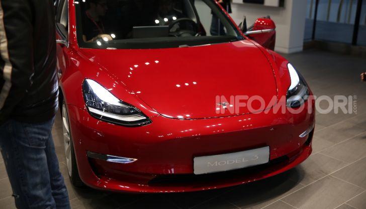 Tesla Model 3: comunicati i prezzi e gli allestimenti per l'Italia - Foto 1 di 22
