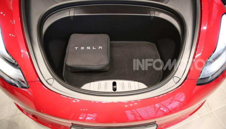 Tesla Model 3: comunicati i prezzi e gli allestimenti per l'Italia - Foto 6 di 22