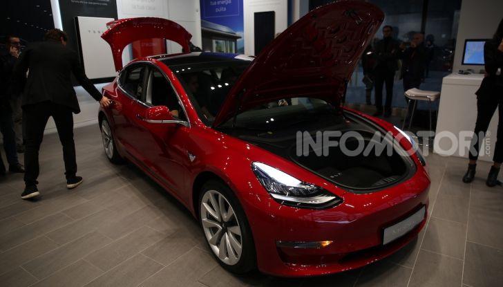 Tesla Model 3: comunicati i prezzi e gli allestimenti per l'Italia - Foto 3 di 22