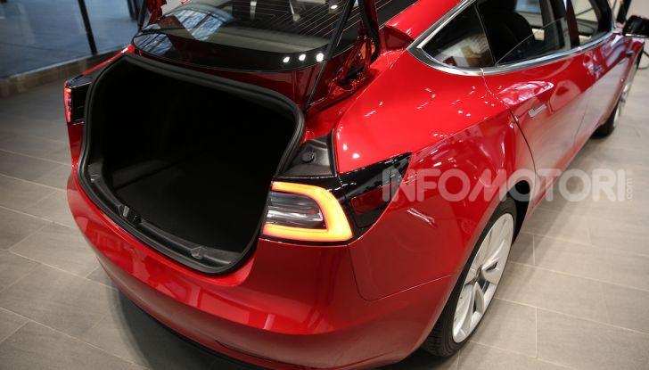 Tesla Model 3: comunicati i prezzi e gli allestimenti per l'Italia - Foto 12 di 22