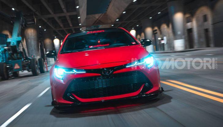 Toyota Corolla 2018 Super Streets: versione sportiva al SEMA di Las Vegas - Foto 3 di 8