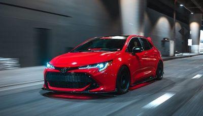 Toyota Corolla 2018 Super Streets: versione sportiva al SEMA di Las Vegas