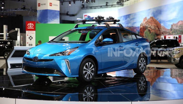 Nuova Toyota Prius AWD-i 2019, il nuovo ibrido anticipa il futuro - Foto 1 di 9
