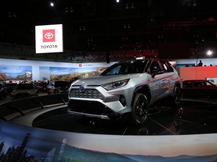 Tutte le novità di Toyota presentate al Salone di Los Angeles 2018