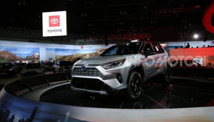 Tutte le novità di Toyota presentate al Salone di Los Angeles 2018 - Foto 13 di 33
