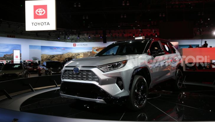 Tutte le novità di Toyota presentate al Salone di Los Angeles 2018 - Foto 1 di 33