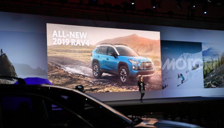 Tutte le novità di Toyota presentate al Salone di Los Angeles 2018 - Foto 9 di 33