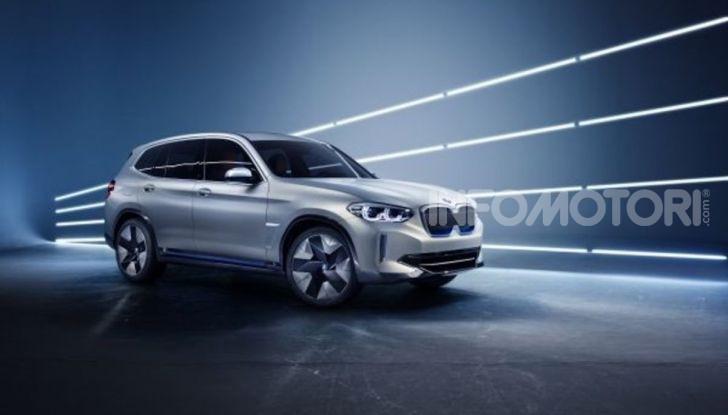 BMW iX3 2020: il SUV elettrico premium è Made in Cina - Foto 18 di 40