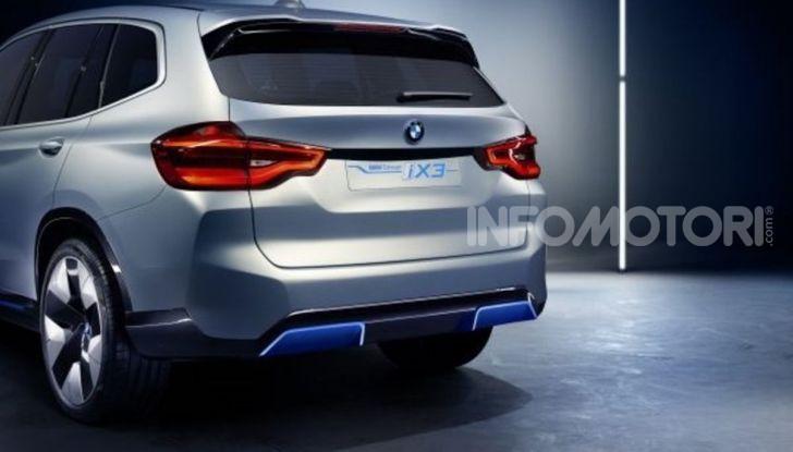 BMW iX3 2020: il SUV elettrico premium è Made in Cina - Foto 23 di 59