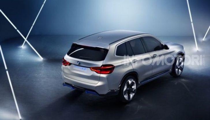 BMW iX3 2020: il SUV elettrico premium è Made in China - Foto 20 di 59