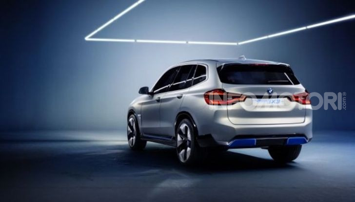 BMW iX3 2020: il SUV elettrico premium è Made in Cina - Foto 21 di 59