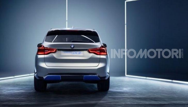 BMW iX3 2020: il SUV elettrico premium è Made in China - Foto 22 di 59
