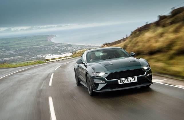 Ford Mustang Bullit provata sulle strade dell'Isola di Man