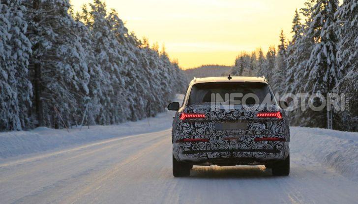 Audi Q7, primi test per la nuova generazione - Foto 2 di 28