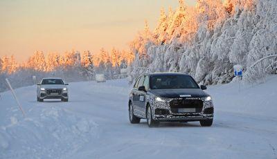 Audi Q7, primi test per la nuova generazione