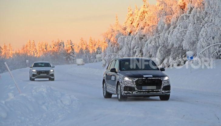 Audi Q7, primi test per la nuova generazione - Foto 1 di 28