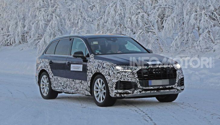 Audi Q7, primi test per la nuova generazione - Foto 13 di 28
