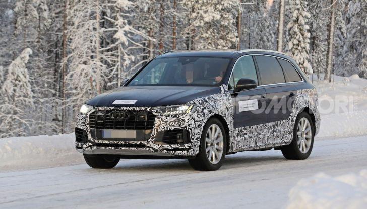 Audi Q7, primi test per la nuova generazione - Foto 3 di 28