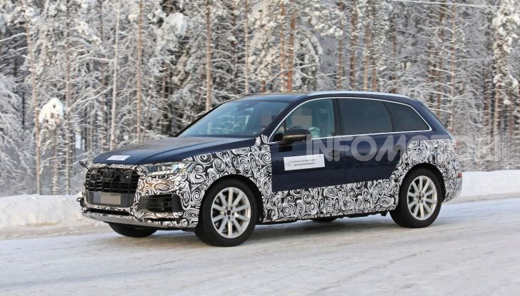 Audi Q7, primi test per la nuova generazione - Foto 6 di 28