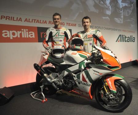 Aprilia Alitalia Racing Team - Foto 2 di 6