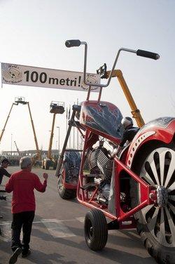 La moto più grande del mondo è italiana - Foto 8 di 10