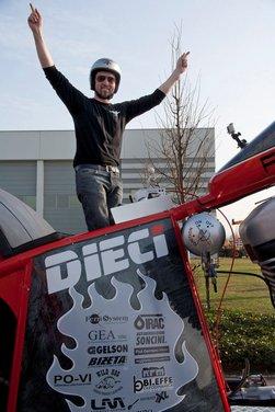 La moto più grande del mondo è italiana - Foto 5 di 10