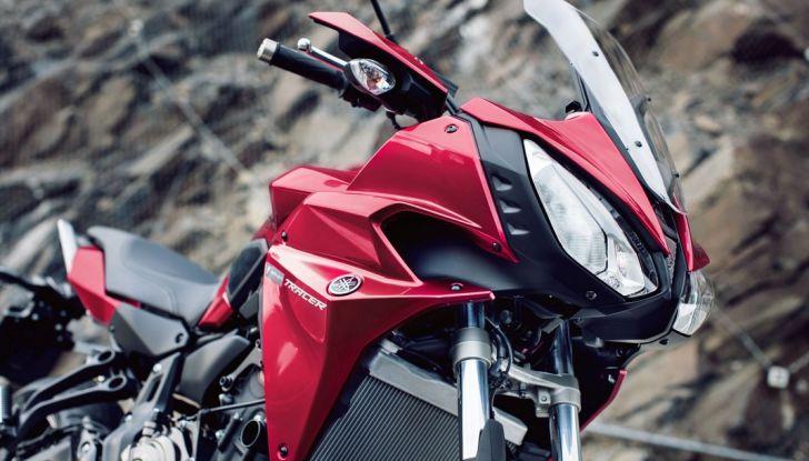 Nuova Yamaha Tracer 700 2016: Caratteristiche, dettagli e video - Foto 2 di 28