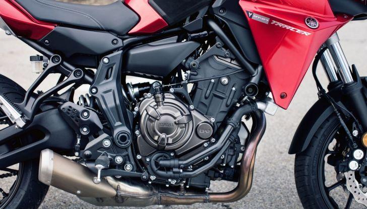 Nuova Yamaha Tracer 700 2016: Caratteristiche, dettagli e video - Foto 13 di 28