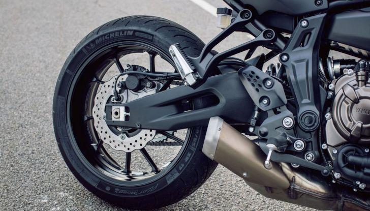 Nuova Yamaha Tracer 700 2016: Caratteristiche, dettagli e video - Foto 14 di 28
