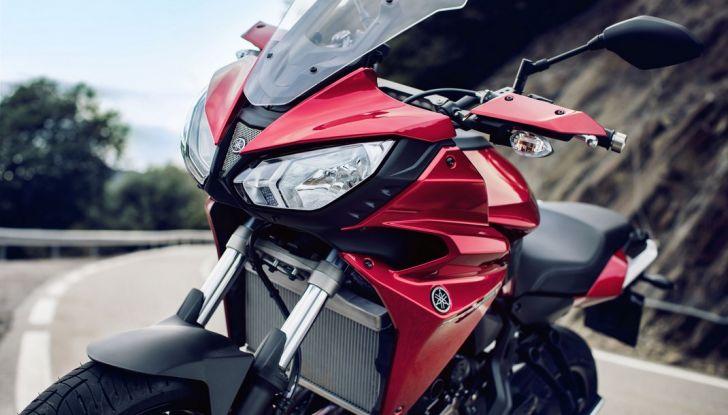 Nuova Yamaha Tracer 700 2016: Caratteristiche, dettagli e video - Foto 18 di 28