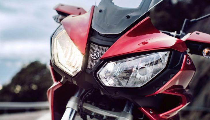 Nuova Yamaha Tracer 700 2016: Caratteristiche, dettagli e video - Foto 19 di 28