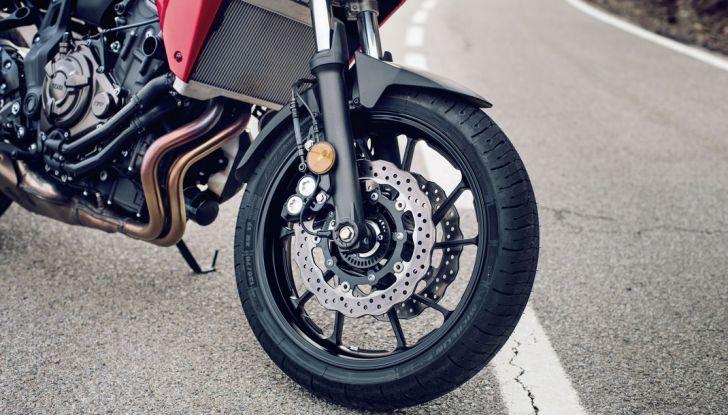 Nuova Yamaha Tracer 700 2016: Caratteristiche, dettagli e video - Foto 27 di 28