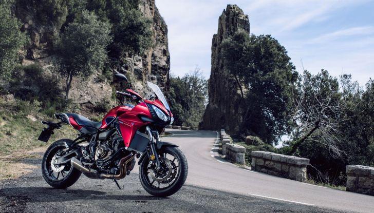 Nuova Yamaha Tracer 700 2016: Caratteristiche, dettagli e video - Foto 7 di 28