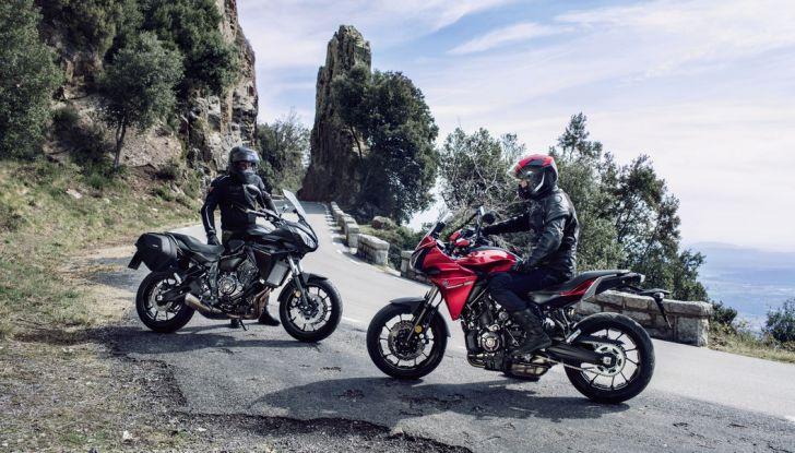 Nuova Yamaha Tracer 700 2016: Caratteristiche, dettagli e video - Foto 8 di 28