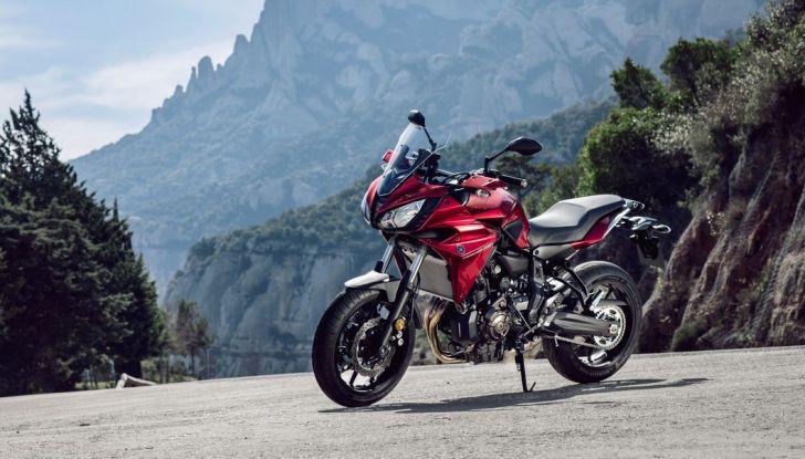 Nuova Yamaha Tracer 700 2016: Caratteristiche, dettagli e video - Foto 1 di 28